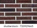 texture of natural brick.... | Shutterstock . vector #720929665