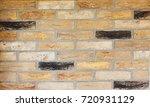 texture of natural brick.... | Shutterstock . vector #720931129