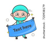 cartoon orthopedic doctor with... | Shutterstock .eps vector #720938179