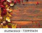 Autumn Rowan Leaves And...