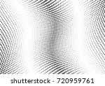 abstract halftone wave dotted... | Shutterstock .eps vector #720959761