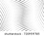 abstract halftone wave dotted... | Shutterstock .eps vector #720959785