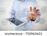 training and development... | Shutterstock . vector #720963631