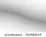 abstract halftone wave dotted... | Shutterstock .eps vector #720984019