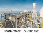 fin tube type of lube oil... | Shutterstock . vector #720984559