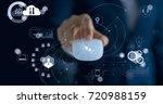 business technology ... | Shutterstock . vector #720988159