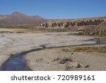 quebrada chuba  a wide river... | Shutterstock . vector #720989161