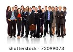 business team formed of young... | Shutterstock . vector #72099073