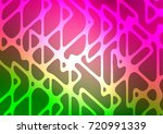 light pink  green vector... | Shutterstock .eps vector #720991339