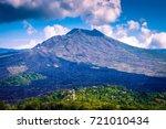 mount agung in bali. mount...   Shutterstock . vector #721010434