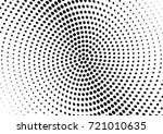 abstract halftone wave dotted... | Shutterstock .eps vector #721010635