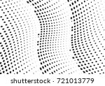 abstract halftone wave dotted... | Shutterstock .eps vector #721013779