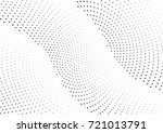 abstract halftone wave dotted... | Shutterstock .eps vector #721013791