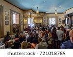 havana  cuba   sep 5  2017  el... | Shutterstock . vector #721018789
