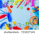 event background. carnival or... | Shutterstock . vector #721027141