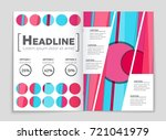 abstract vector layout... | Shutterstock .eps vector #721041979