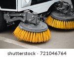Close Up Sweeper Machine...