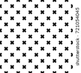 black and white fashion prints... | Shutterstock .eps vector #721054045