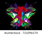 colorful artistic background | Shutterstock . vector #721096174
