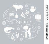 vector illustration with... | Shutterstock .eps vector #721114669