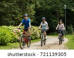 healthy lifestyle   people... | Shutterstock . vector #721139305