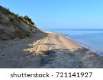 Take a stroll on the Mount Baldy beach and shoreline of southern Lake Michigan in Indiana Dunes National Lakeshore Park in Indiana.