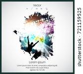 clubbing  dancing people | Shutterstock .eps vector #721159525