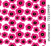 cute seamless pattern with a...   Shutterstock .eps vector #721159939