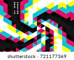 abstract background of colored... | Shutterstock .eps vector #721177369