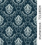 damask seamless pattern | Shutterstock . vector #72118024