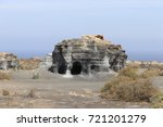 abandoned quarry for extraction ... | Shutterstock . vector #721201279