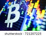 data analyzing in exchange... | Shutterstock . vector #721207225