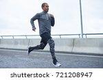 freeze action shot of confident ...   Shutterstock . vector #721208947