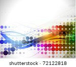 abstract colorful circle...