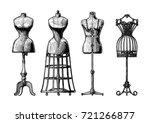 hand drawn illustration of... | Shutterstock . vector #721266877