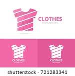 vector of t shirt logo... | Shutterstock .eps vector #721283341