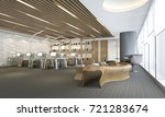 3d rendering business meeting... | Shutterstock . vector #721283674