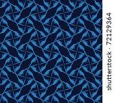 vector seamless texture | Shutterstock .eps vector #72129364
