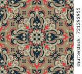 vector seamless pattern... | Shutterstock .eps vector #721293955