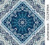 vector ornament paisley... | Shutterstock .eps vector #721293964