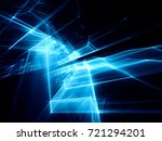 abstract blue and black... | Shutterstock . vector #721294201