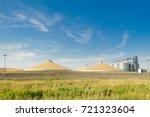 grain silo's elevator and a...
