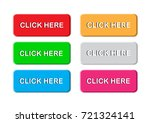 click here button vector set | Shutterstock .eps vector #721324141