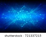abstract mesh background with...   Shutterstock .eps vector #721337215