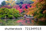sento imperial palace is japan... | Shutterstock . vector #721349515