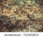 sand beach ladder | Shutterstock . vector #721352815