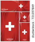 switzerland flag abstract... | Shutterstock .eps vector #721357849