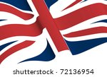 a union flag | Shutterstock .eps vector #72136954