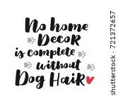 dog adoption hand written... | Shutterstock .eps vector #721372657