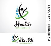 health people logo template... | Shutterstock .eps vector #721373965